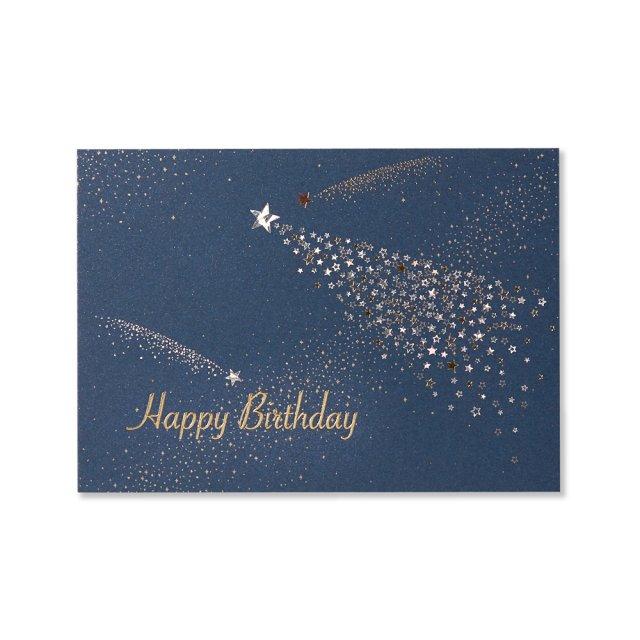 カード 流れ星 BIRTH
