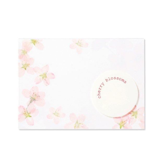 ふみ揃え便箋 ピュアナチュラル桜