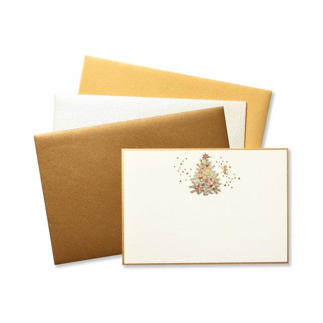 ショートメッセージカードセット メリークリスマス