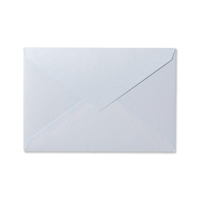 カラー封筒 洋1 5枚 パールブルー