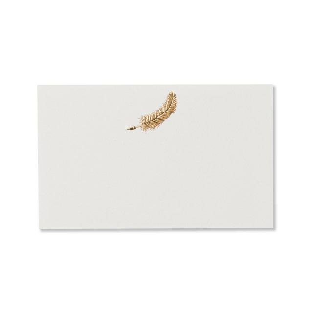 ミニメッセージカード 羽根ペン