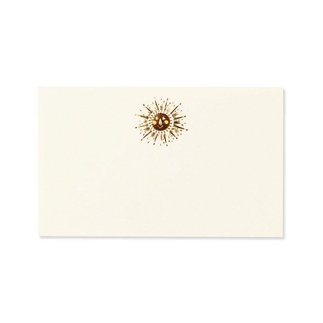 ミニメッセージカード 太陽
