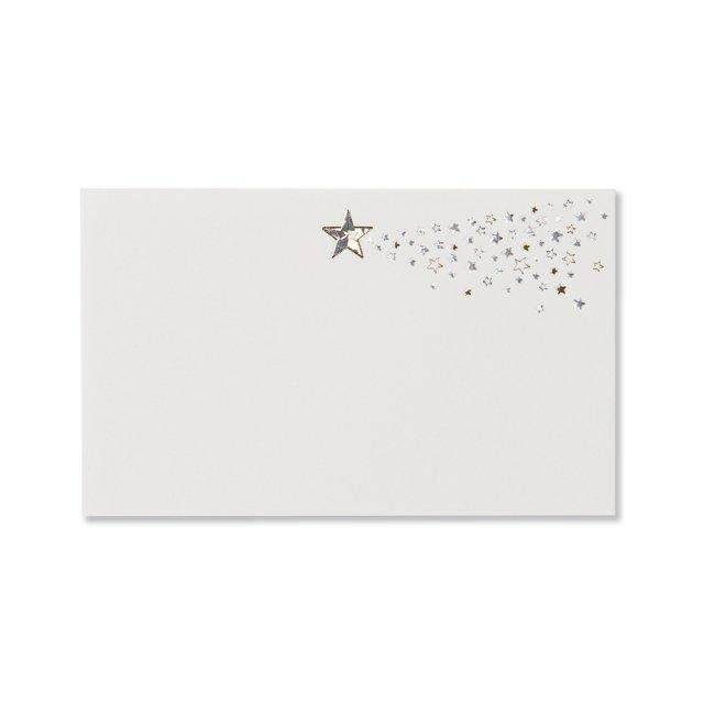 ミニメッセージカード 流れ星