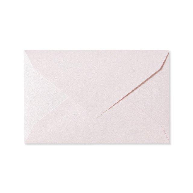 ミニメッセージカード用封筒 パールピンク