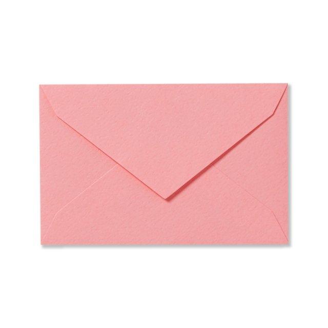 ミニメッセージカード用封筒 ローズピンク
