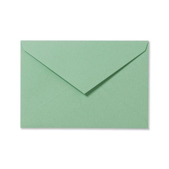 カラー封筒 洋1 5枚 ペールグリーン
