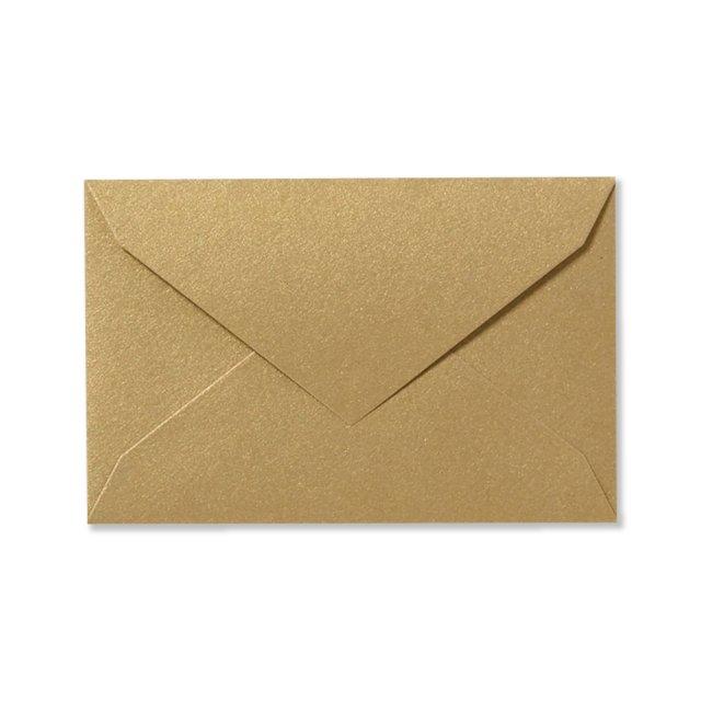 ミニメッセージカード用封筒 シャンパンゴールド