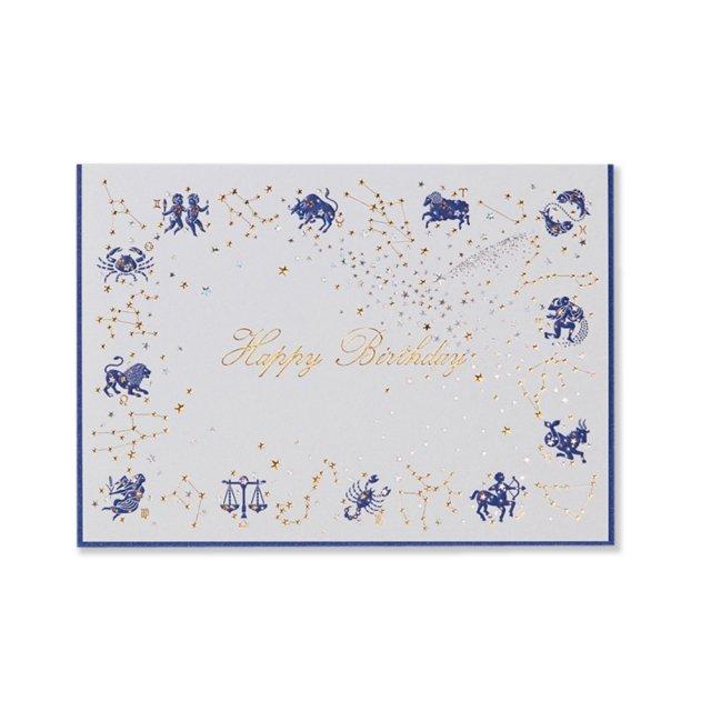 カード  12 星座  BIRTH