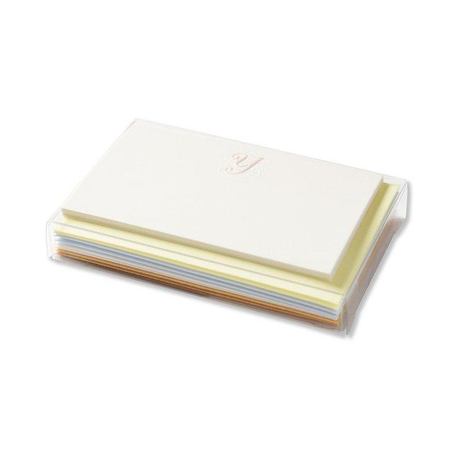 イニシャルカードボックス Y