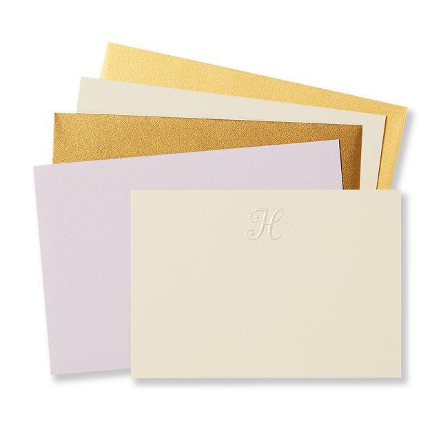 イニシャル カードセット H