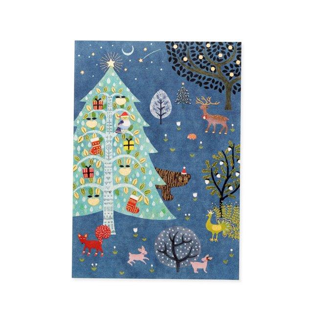 便箋 真夜中のクリスマス