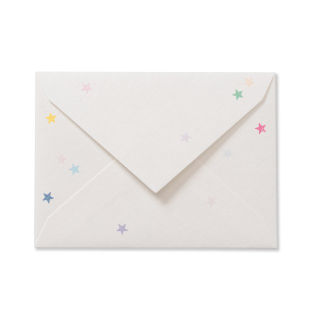 ふみ揃え封筒 和紙 星