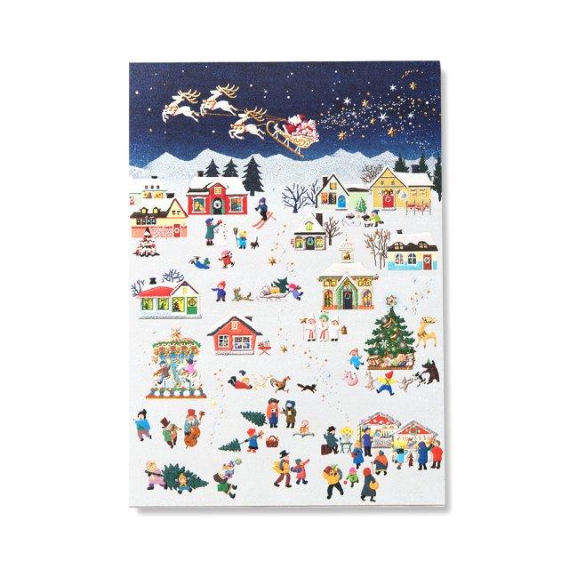 便箋 ハートフル クリスマス