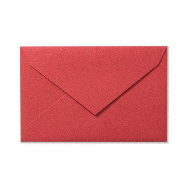 ミニメッセージカード用封筒 レッド