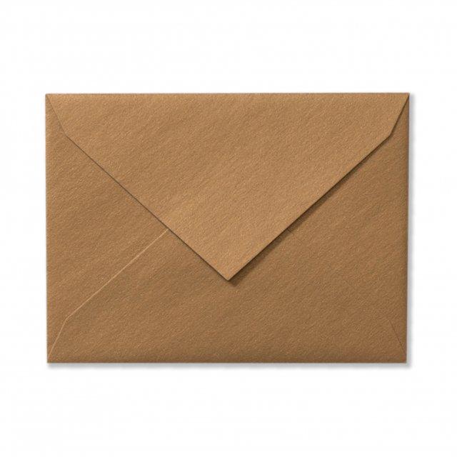 ふみ揃え封筒 アンティークゴールド