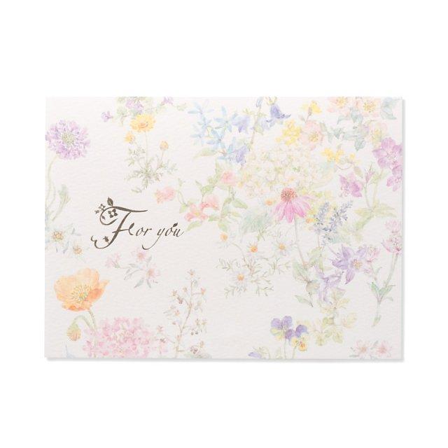 カード イングリッシュガーデン イン ザ モーニング サン  FOR YOU