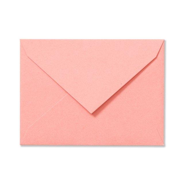 ふみ揃え封筒 コーラルピンク