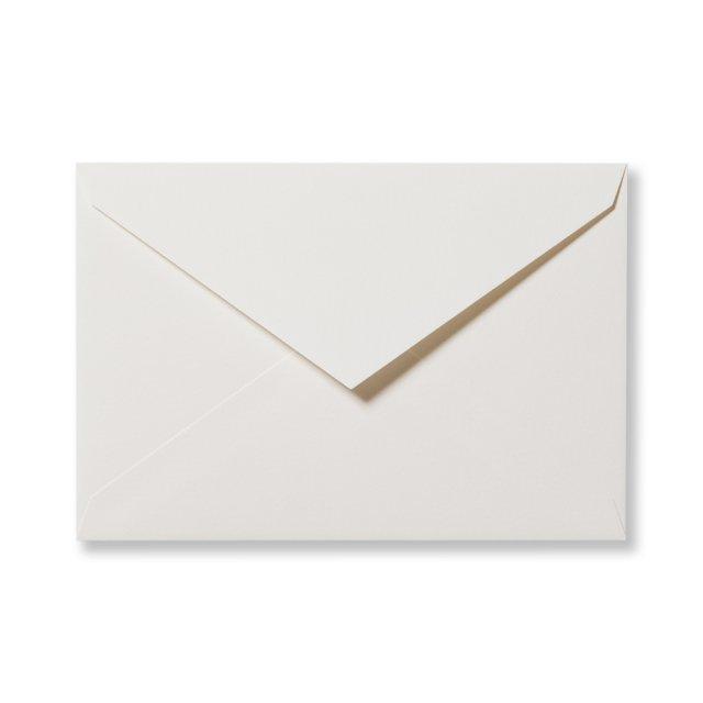 カラー封筒 洋1 5枚 ピュアホワイト