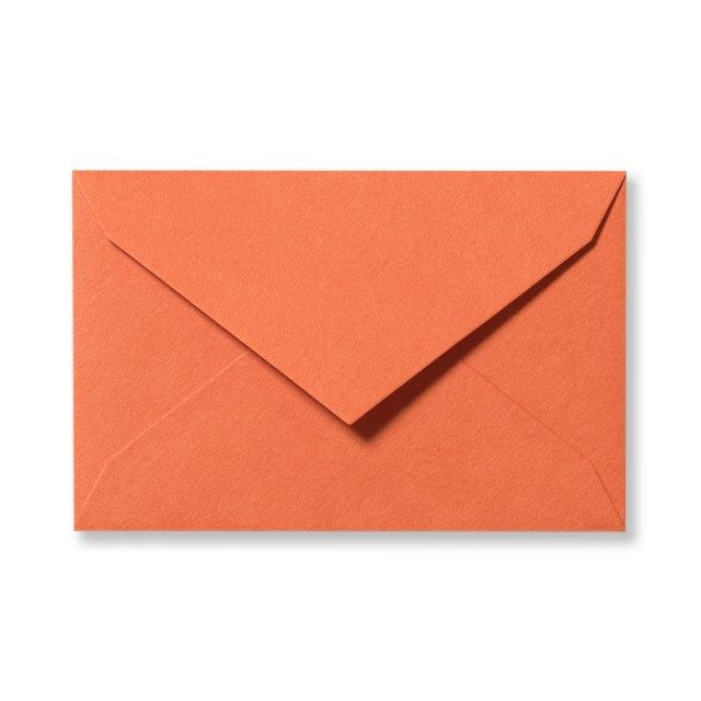 ミニメッセージカード用封筒 オレンジ