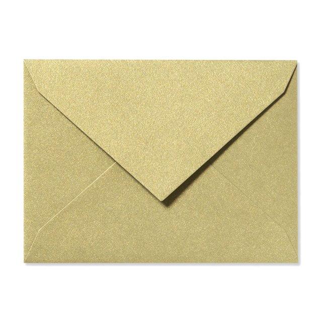 ふみ揃え封筒 シャンパンゴールド