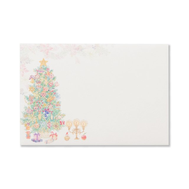 封筒 マイ ブリスフル クリスマス タイム