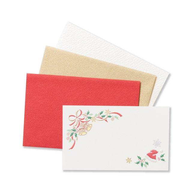 ミニメッセージカードセット アンリュバンドゥー クリスマス