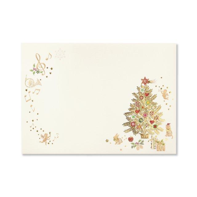 封筒 メリークリスマス