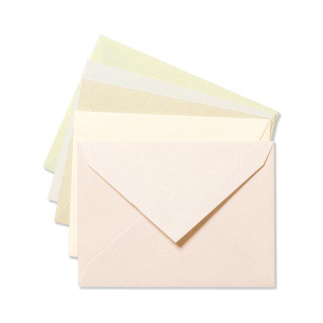 ふみ揃え封筒 彩り封筒