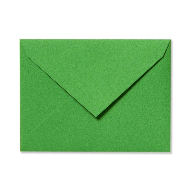 ふみ揃え封筒 パロットグリーン