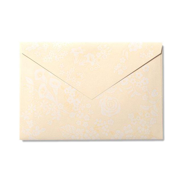 封筒 シエル ブーケ 洋形1号サイズ
