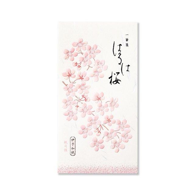 紙司撰 一筆箋 はるは桜