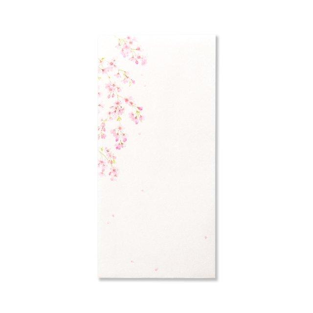 紙司撰 封筒 花の封筒 桜の散歩道
