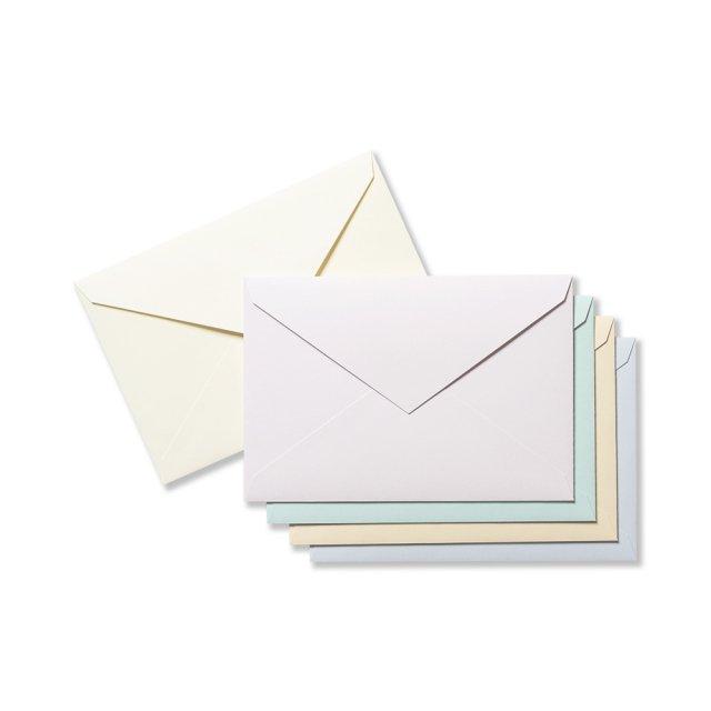 封筒 洋ペン書箋5色入り