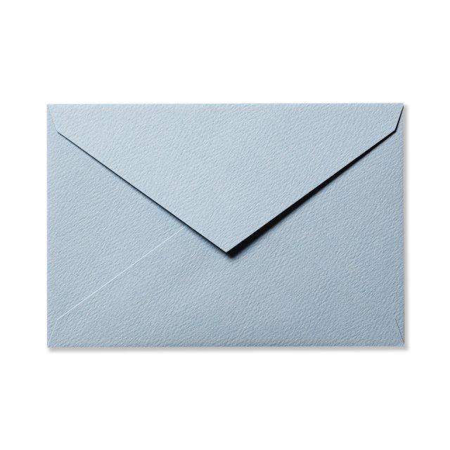 カラー封筒 洋1 5枚 ウォーターブルー