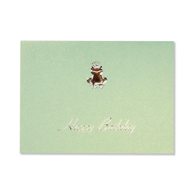 カード カエル  BIRTH