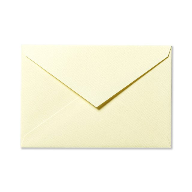 カラー封筒 洋1 5枚 ペールイエロー