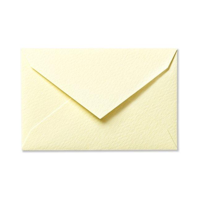 ミニメッセージカード用封筒 ペールイエロー