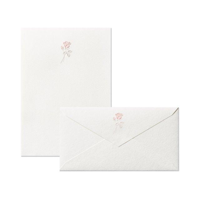 ローズタンドル 便箋/封筒セット