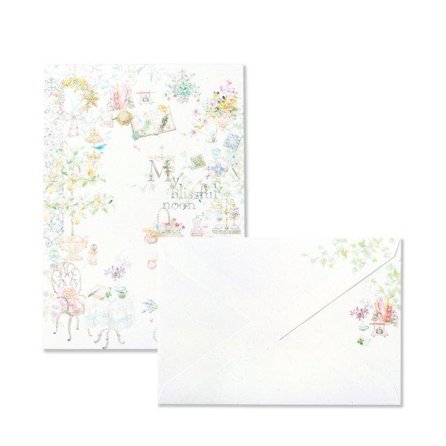 マイ ブリスフル ヌーン 便箋/封筒セット