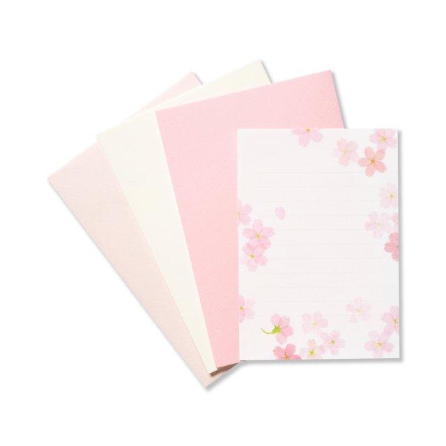 メッセージレターセット 桜絵双紙
