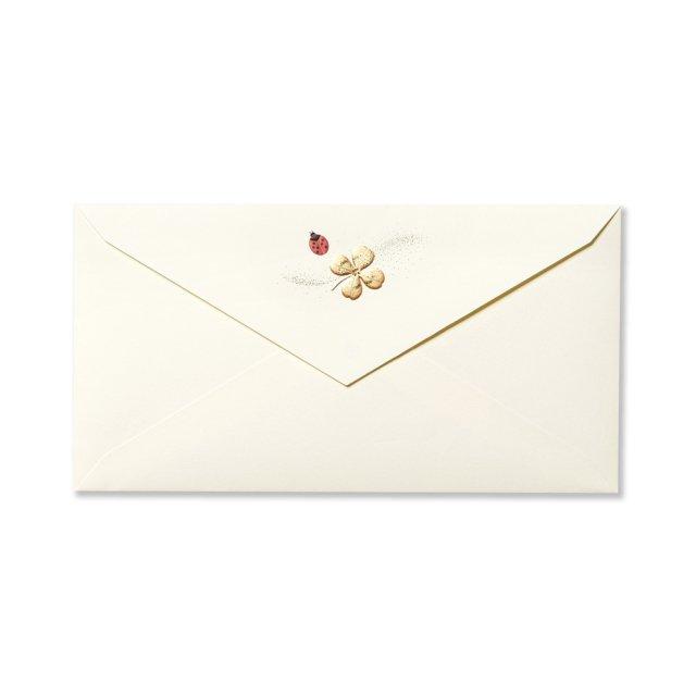 封筒 Ladybird テントウムシ