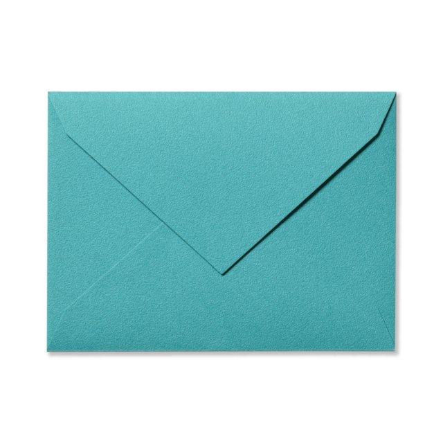 ふみ揃え封筒 ターコイズ