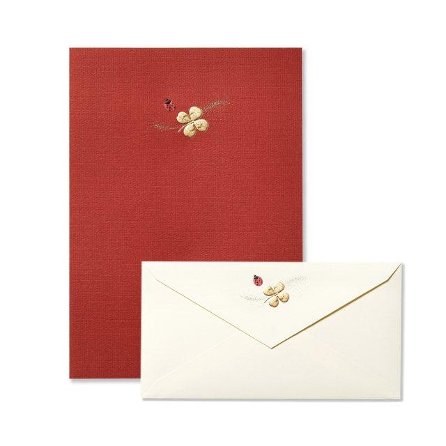 便箋 Ladybird テントウムシ/封筒 Ladybird テントウムシ