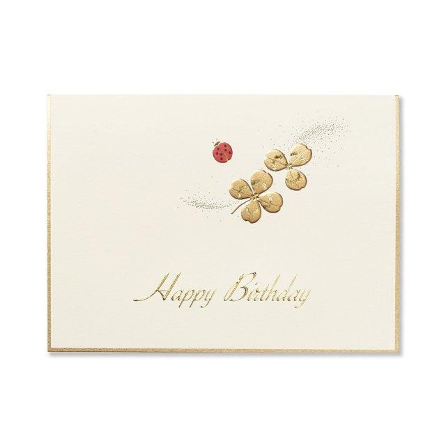 カード Ladybird テントウムシ  BIRTH