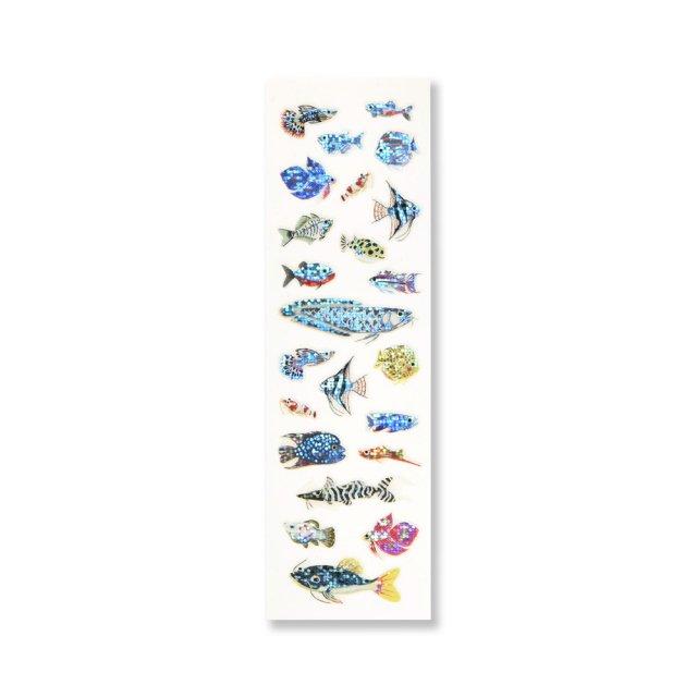 シール クリスタル 熱帯魚