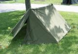 米軍シェルターハーフテント PUPテント Used実物 ポールは新品