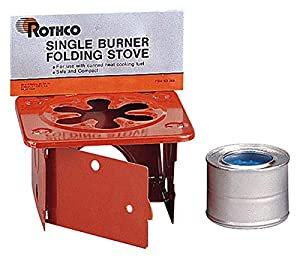 Rothco社製折り畳みSTOVE 固形アルコール燃料1缶付