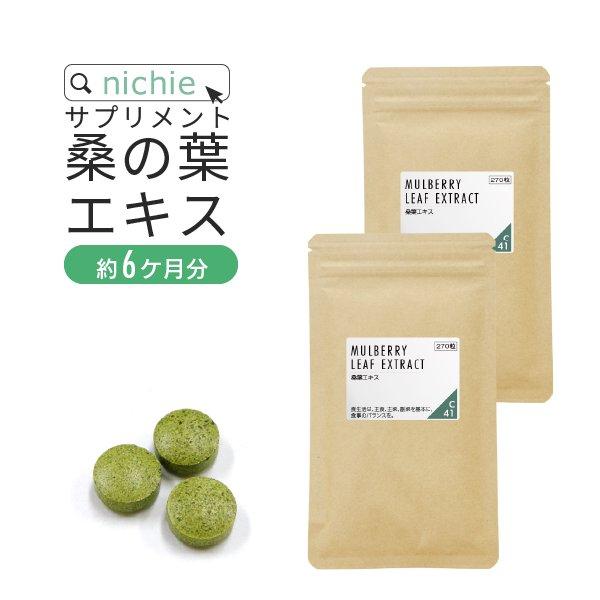 桑の葉 サプリ DNJ 540粒(270粒×2袋)