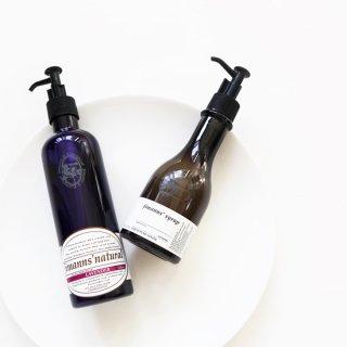 ジマンズシロップハンドソープ&ジマンズナチュラル食器用洗剤セット