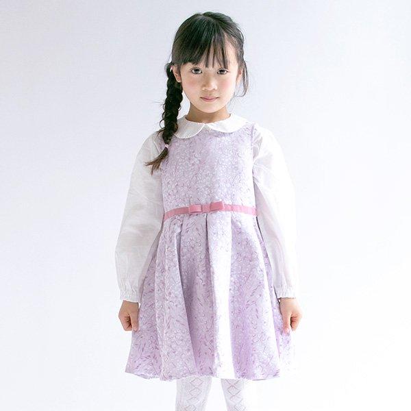フラワ-ジャガードワンピース / nino(ニノ)/ 120-130cm